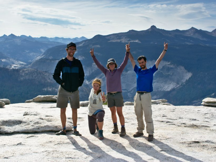 yosemite half dome summit