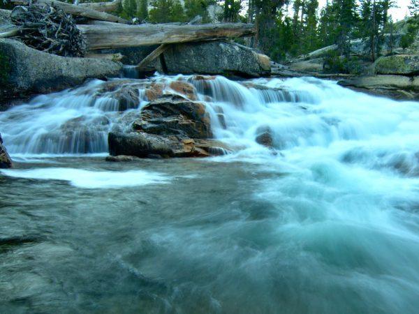 yosemite sierra nevada river cascade