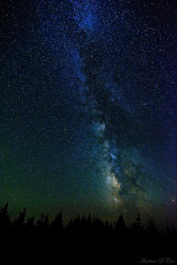 spruce knob astrophotograohy