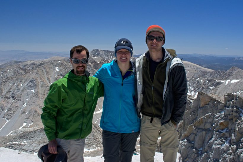 sierra nevada mountains wilderness mt whitney summit