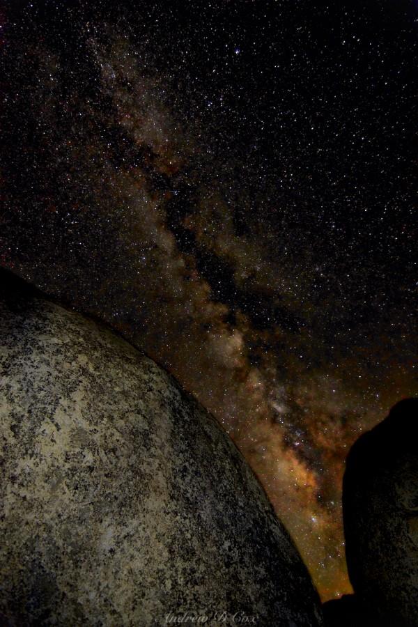 milky way astrophotography buttermilks