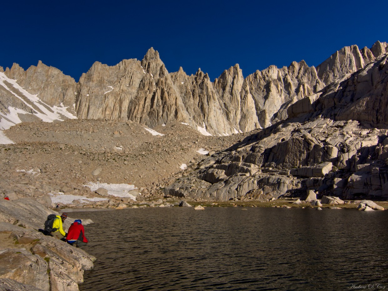 mount whitney trail camp lake
