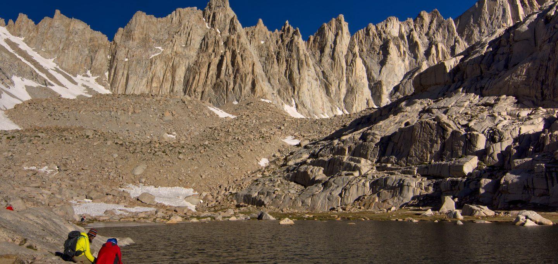 mount whitney trail camp lake
