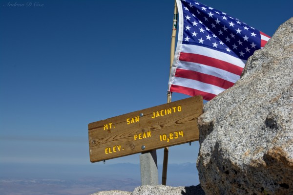 mt san jacinto summit