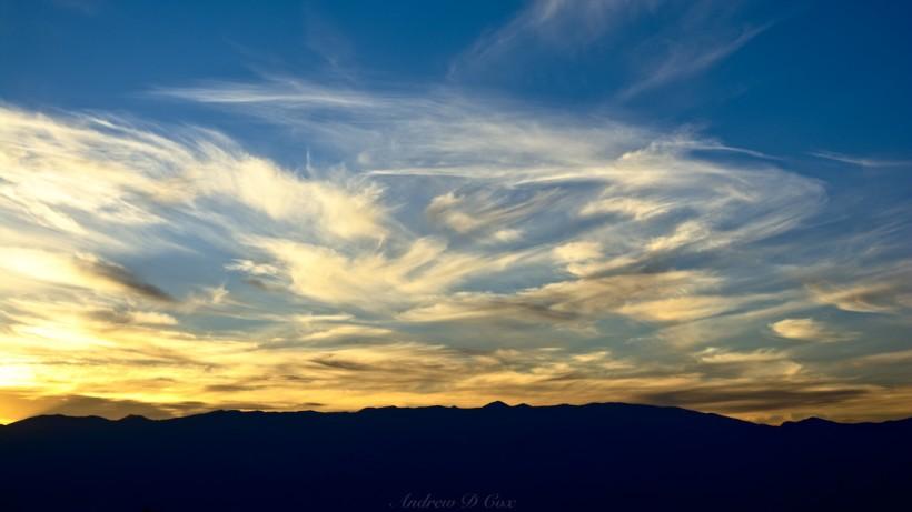 sunrise color painted