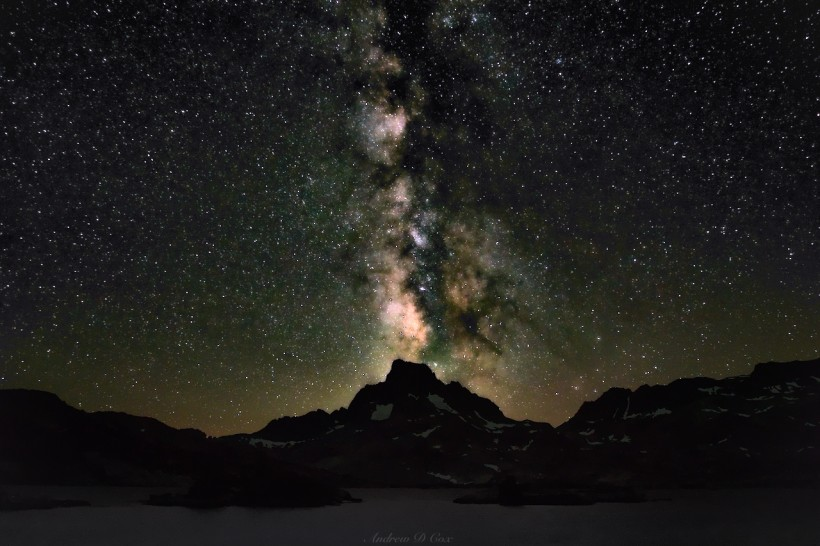 ansel adams wilderness milky way astrophotograpy