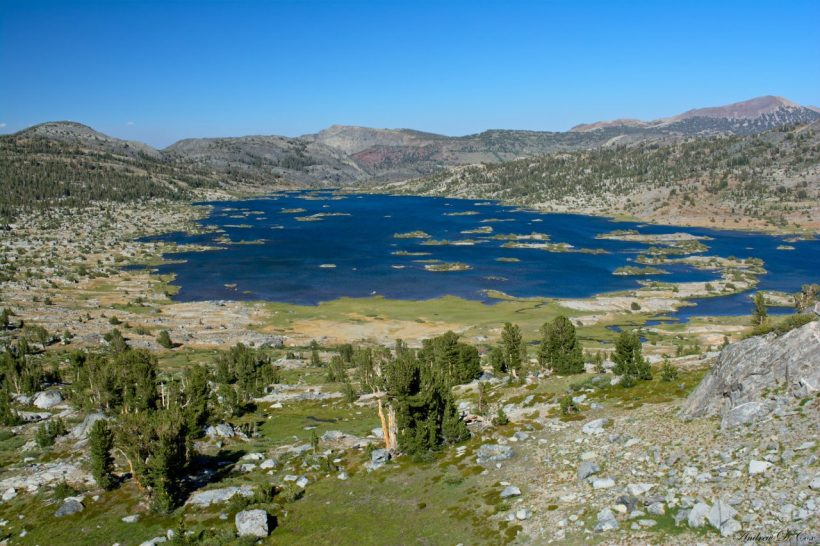sierra nevada mountains ansel adams wilderness thousand island lake