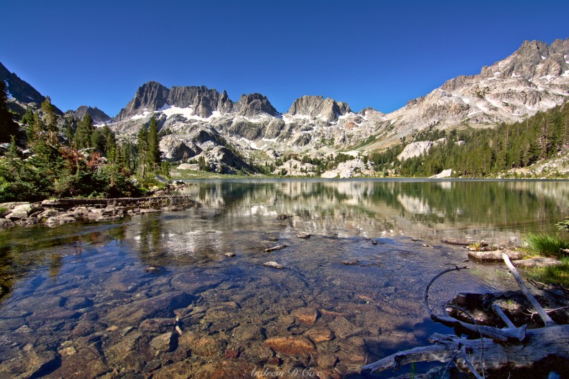 ansel adams wilderness ediza lake