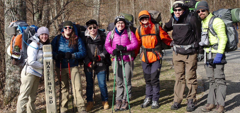 purdue outing club shenandoah national park backpacking spring break
