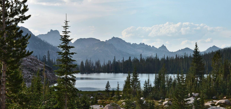 sawtooth mountains wilderness cramer lake