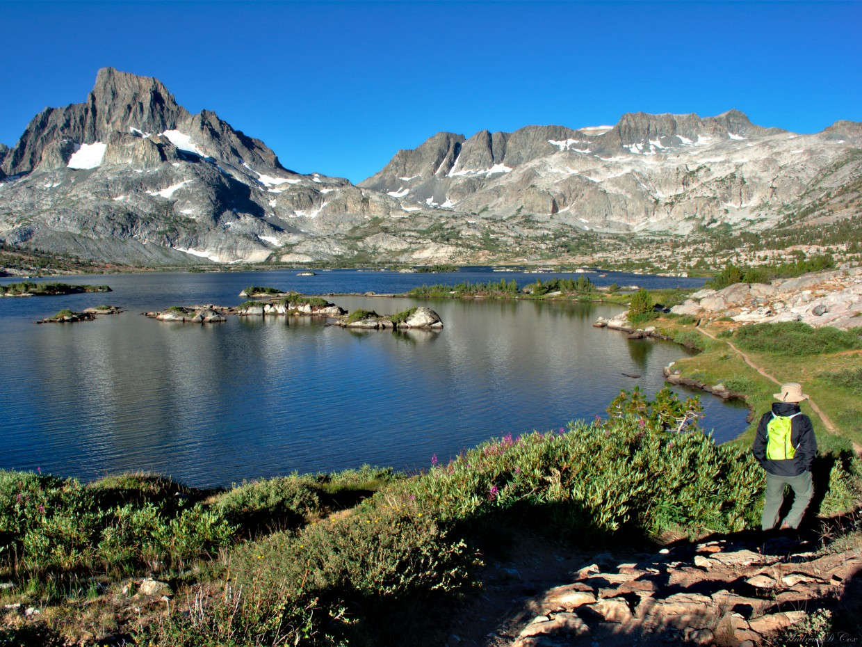 sierra nevada mountains thousand island lake
