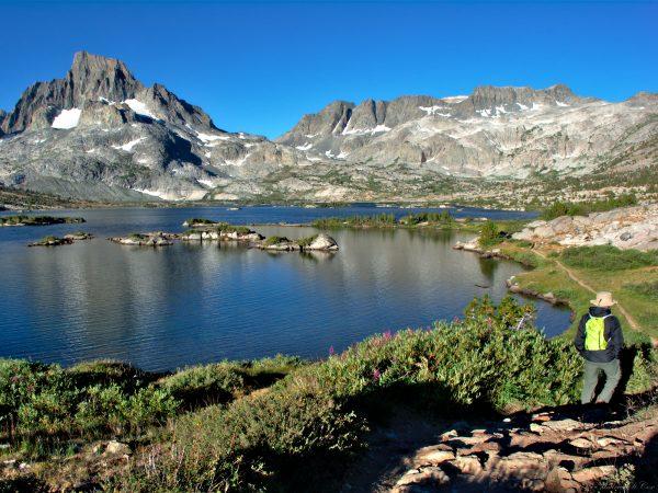 sierra nevada mountains thousand island lake