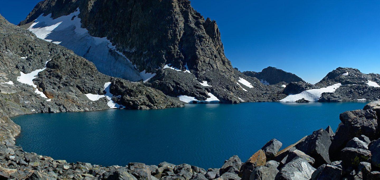 lake catherine banner peak sierra nevada
