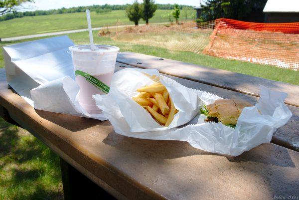 lunch wayside shendandoah