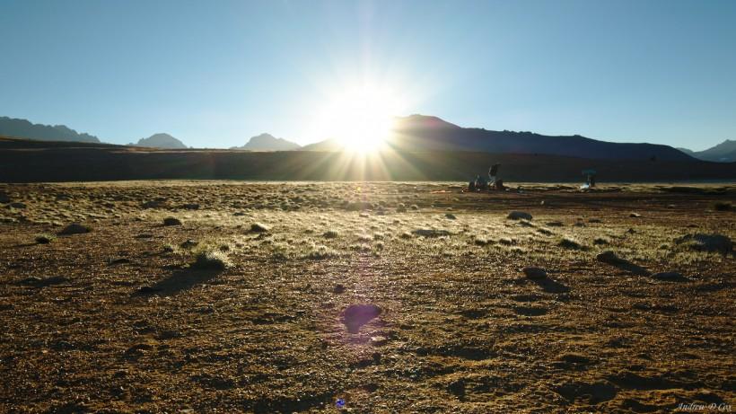 bighorn plateau sunrise