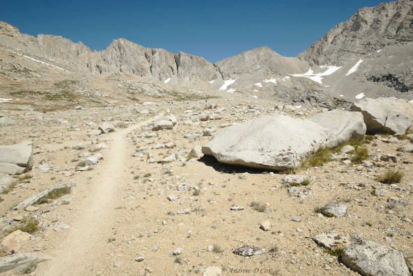 john muir trail barren landscape