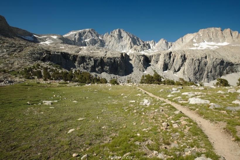john muir trail forester pass trail