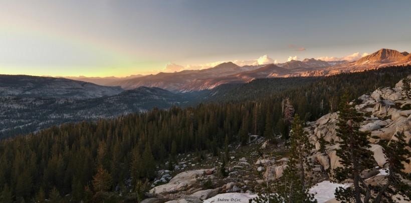 isberg pass sunset view