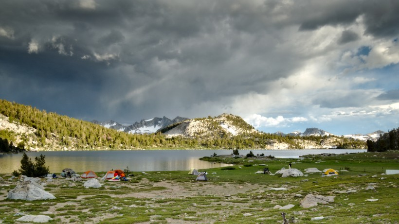 lake virginia john muir trail