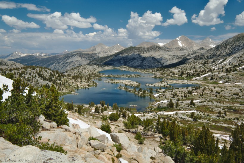 marie lake john muir trail