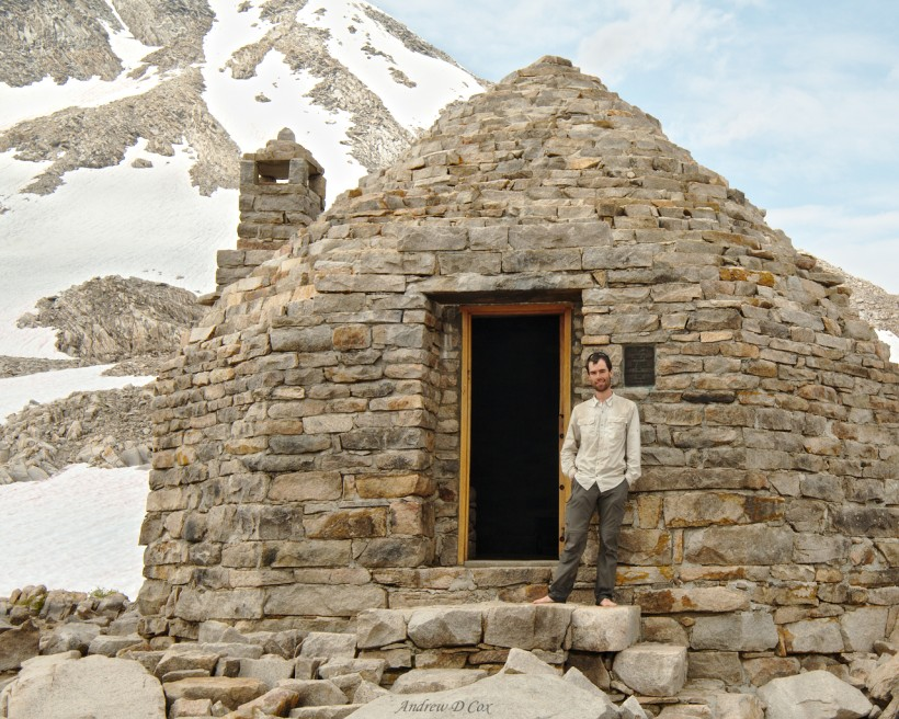 john muir trail pass hut