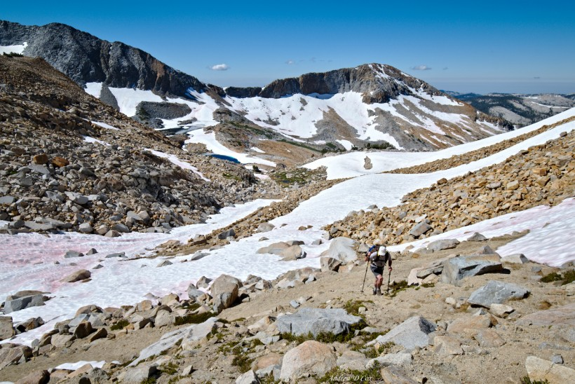 merced peak snow glacier