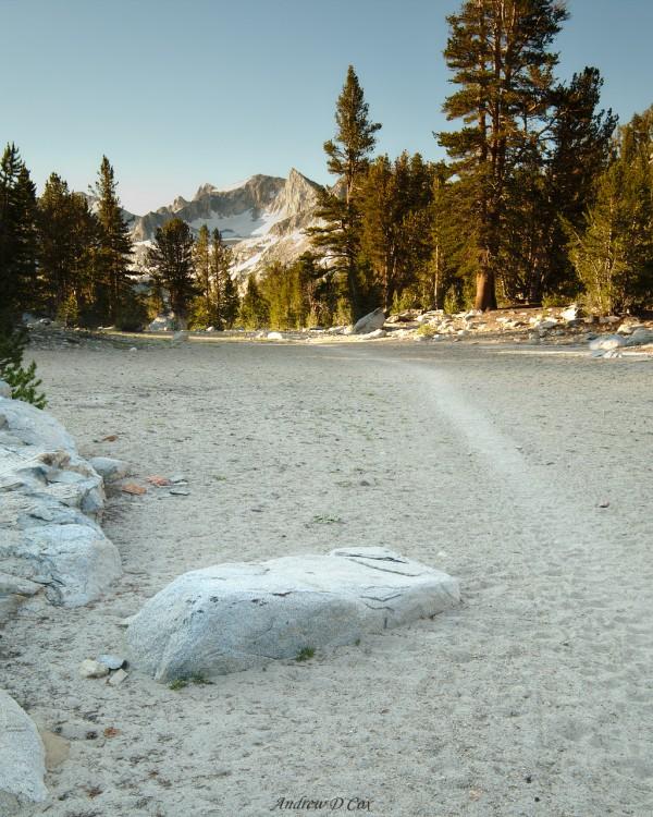 john muir trail sand