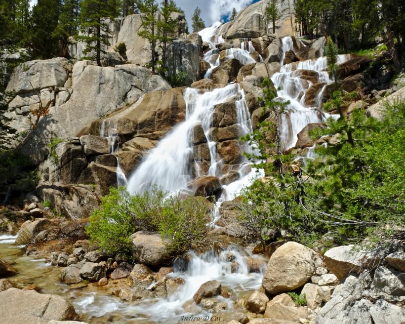 silver falls john muir trail