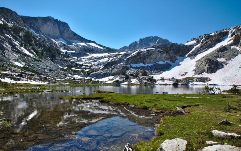 squaw lake john muir trail