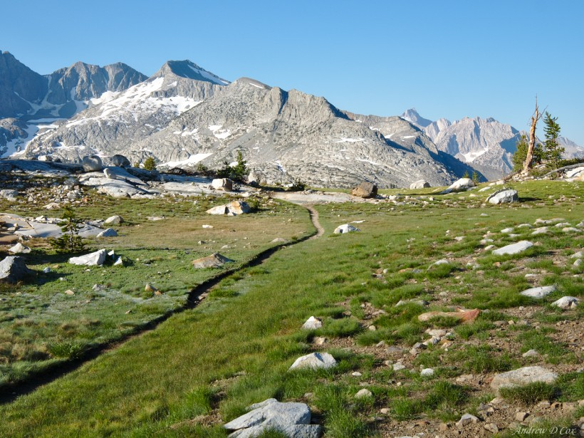 john muir trail single track