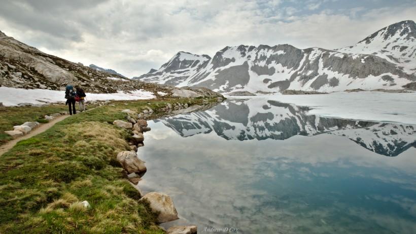 john muir trail wanda lake