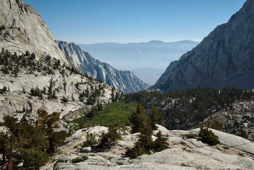 john muir trail mount whitney descent