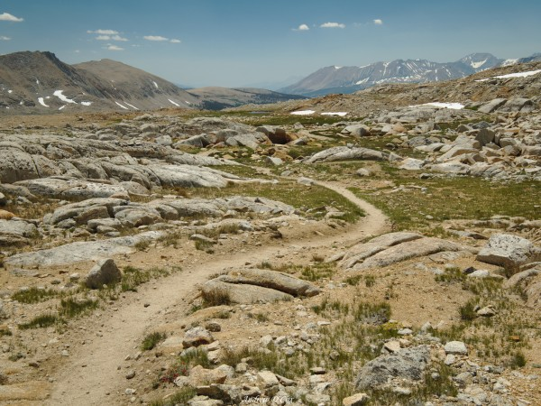 john muir trail high altitude