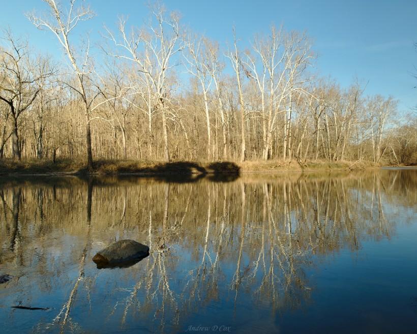 sugar creek reflection shades state park