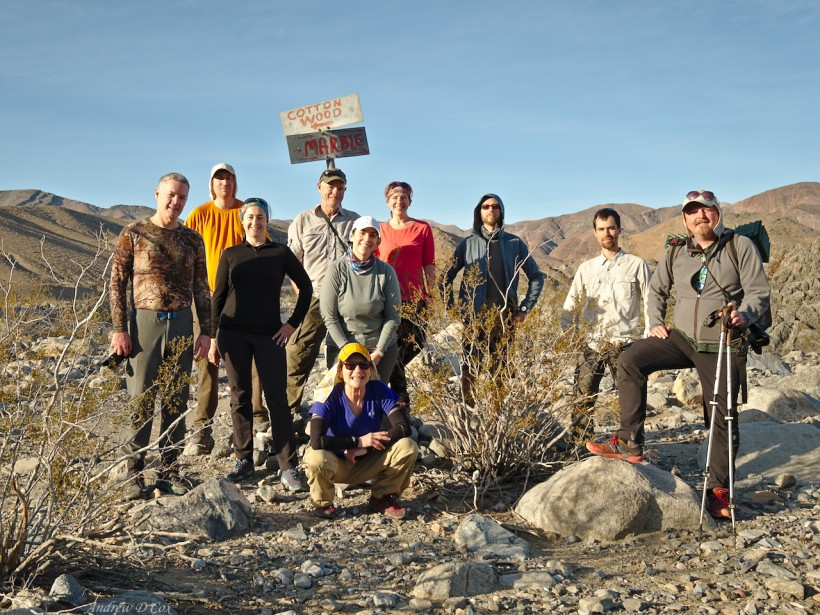 DC ultralight backpacking club death valley