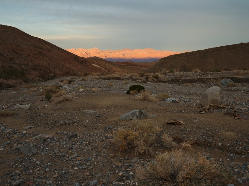 death valley alpenglow