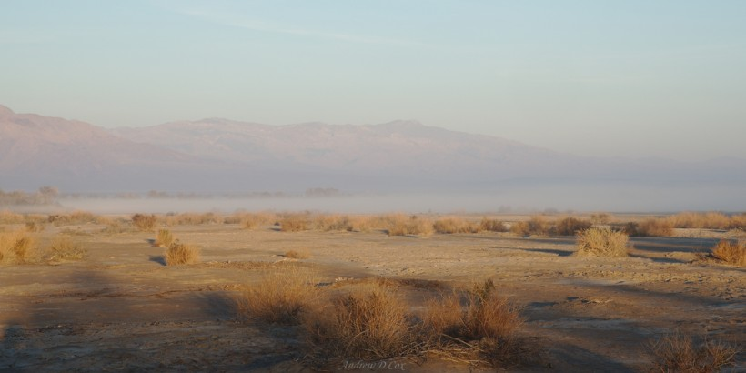 death valley furnace creek mist