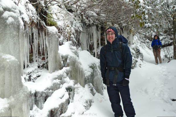 smoky mountains icicles