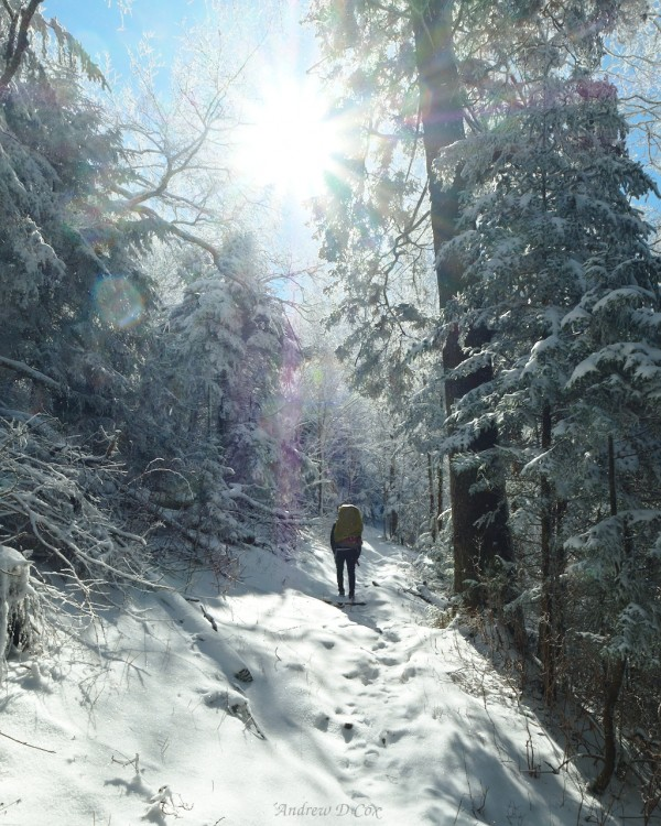 smoky mountains winter backpacking