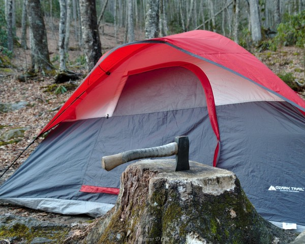 smoky mountains camping