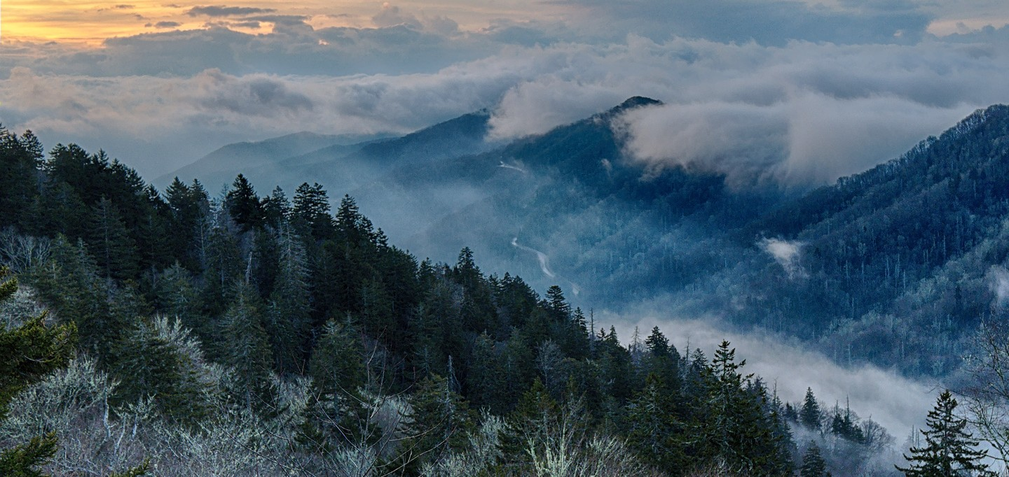 smoky mountains newfound gap