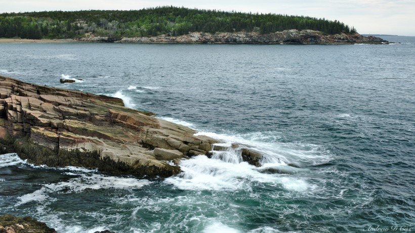 acadia day hiking coast