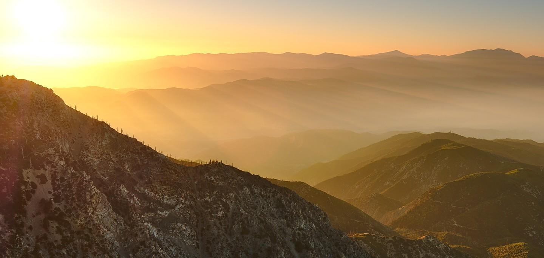 cucamonga peak sunrise
