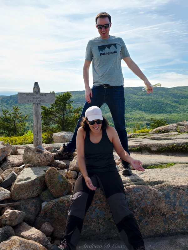 acadia day hiking gorham mountain