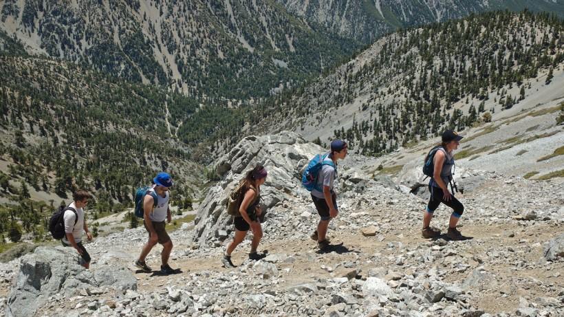 mount san antonio hiking