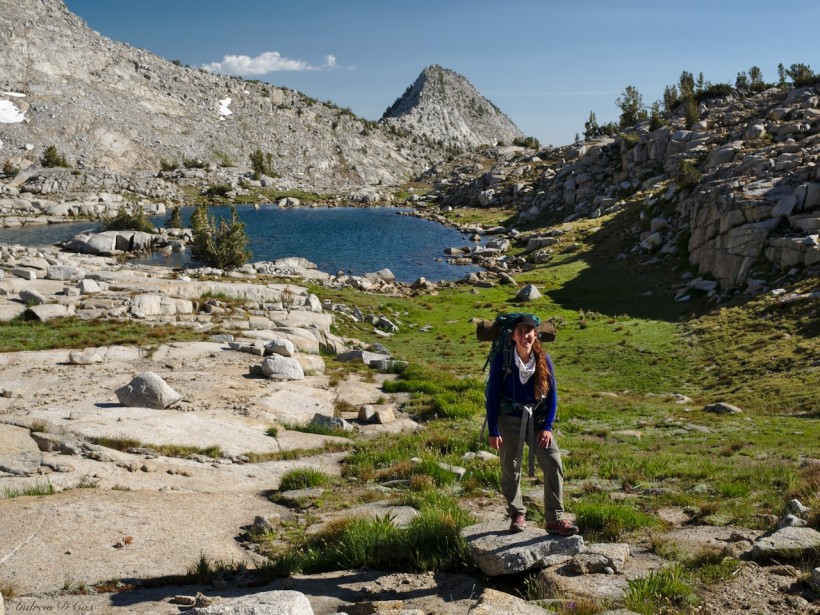 sierra high route tarn