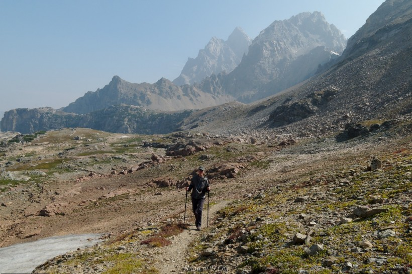 teton mountains avalanche divide trail