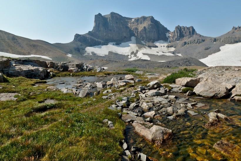 teton mountains alpine