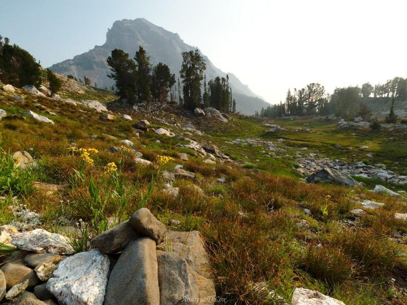 teton mountains peak