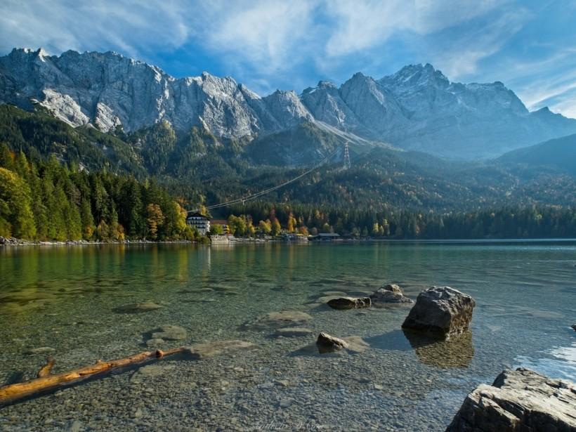 alps eibsee lake